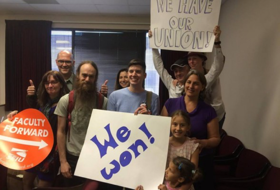 Duke Faculty Celebrate Successful Union Vote